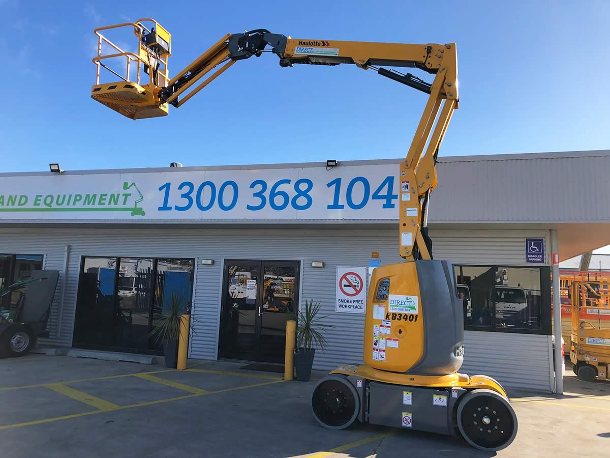 34′ Electric Knuckle Boom Lift