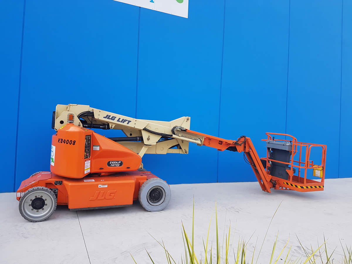 40′ Electric Knuckle Boom Lift