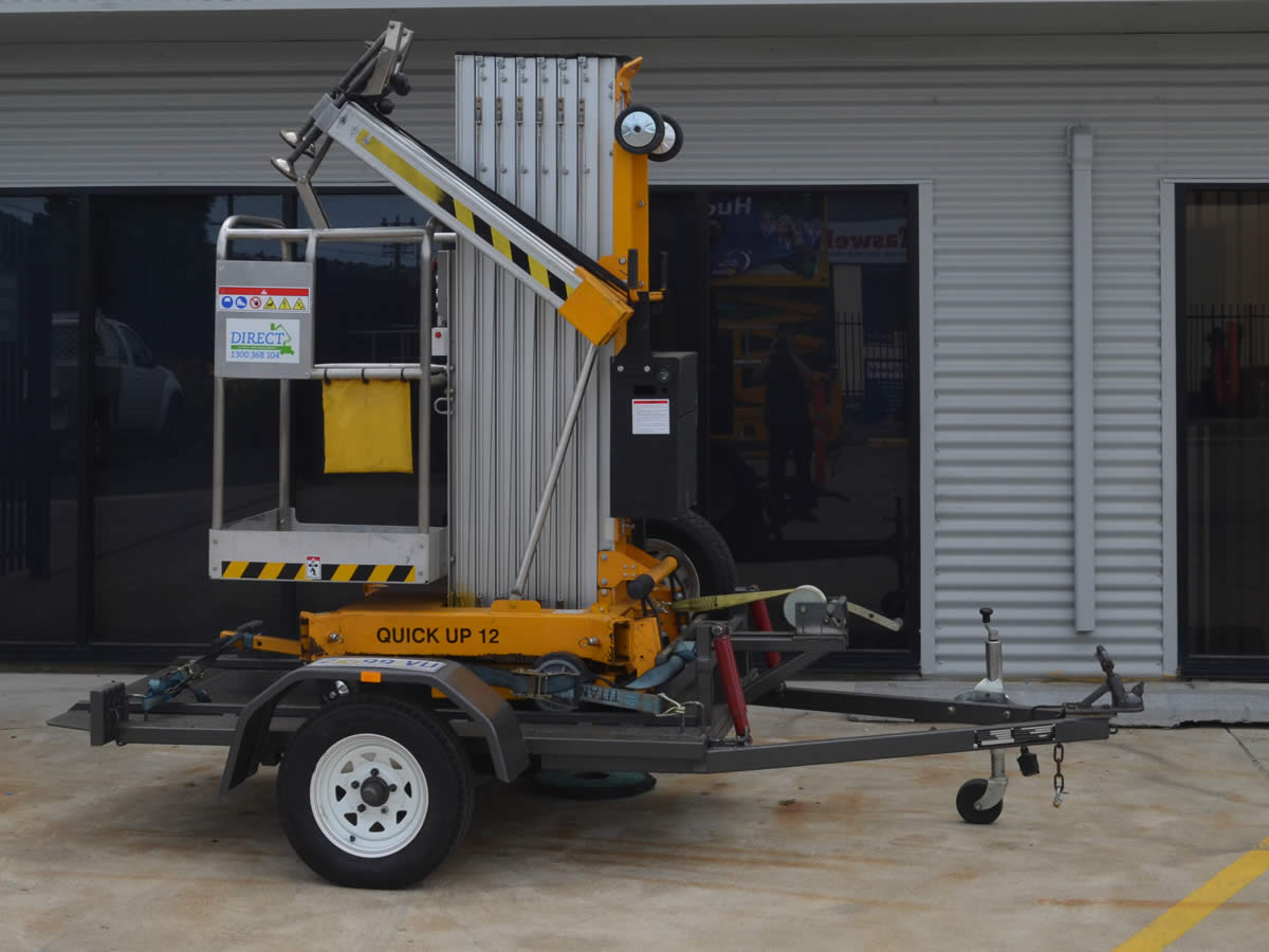 Quick Up 12 Electric Single Man Lift