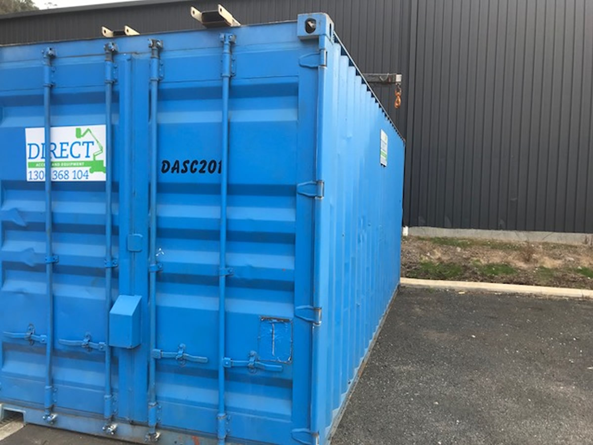 6m Site Containers